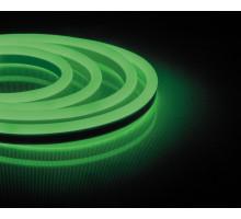 Неоновый шнур, зеленое свечение, односторонний, 50м