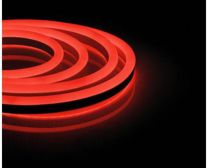Неоновый шнур, красное свечение, двухсторонний, 50м