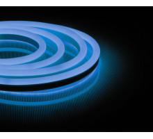 Неоновый шнур, синее свечение, односторонний, 50м