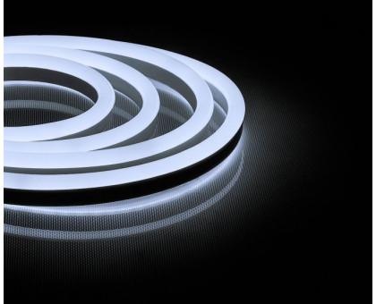 Неоновый шнур, белое свечение, односторонний, 50м