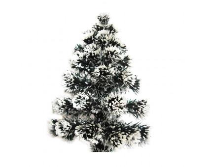 Искусственная елка с гирляндой и звездой, 60см