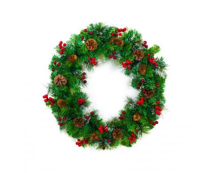 Венок рождественский, D60см