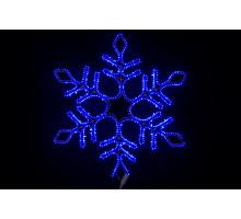 """Фигура """"Снежинка"""", статичное свечение, 57см"""