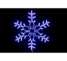 "Фигура ""Снежинка"", бело-синяя, 86см"