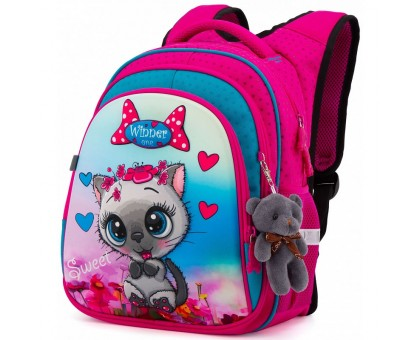 Детский рюкзак Winner + брелок. Модель R2-164