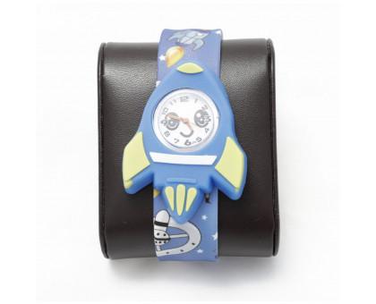 Детские наручные часы РАКЕТА с гибким браслетом