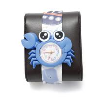 """Детские наручные часы """"Крабик"""" с гибким браслетом"""