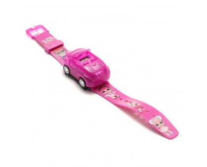 """Детские электронные наручные часы """"Автомобиль"""" + LED-проектор"""