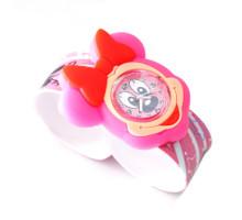 Детские наручные часы для детей младшего возраста на гибком браслете