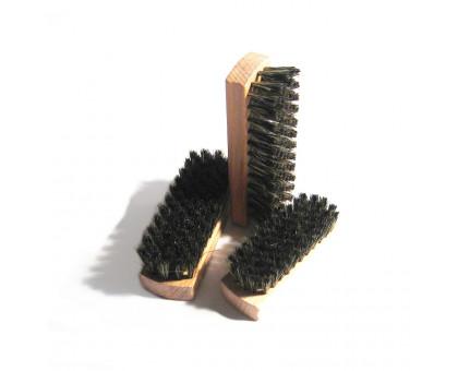 Деревянная щетка для обуви, малая