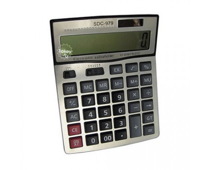 Калькулятор настольный офисный, модель SDC979