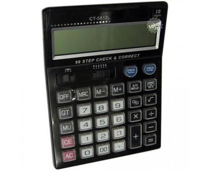 Калькулятор настольный офисный, модель CT5812L