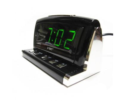 Настольные электронные часы VST718
