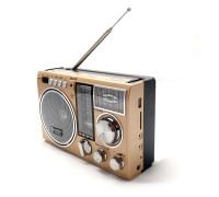 """Сетевой радиоприемник """"Luxe Bass"""" с фонарем модель LB-A62"""