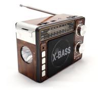 """Сетевой радиоприемник """"Luxe Bass"""" с фонарем модель LB-A66"""
