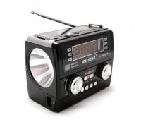 """Сетевой радиоприемник """"Raiseng"""" с фонарем модель R-1359"""