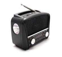 """Сетевой радиоприемник """"Haoning"""" с фонарем модель HN-289"""