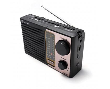 """Сетевой радиоприемник """"Luxe Bass"""" с фонариком, модель LB-A34"""