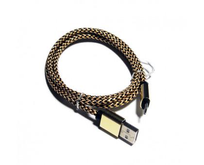 Кабель Micro USB/USB 2.0 в оплетке, 90см