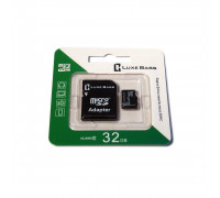 "Карта ""Luxe Bass"" micro SDHC, 32 Гб"
