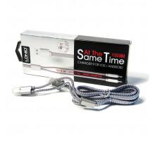 Универсальный кабель Lightning/USB 2.0/micro USB, 100см