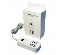 Сетевое  зарядное устройство с шестью USB выходами, 5V/6х5000мА