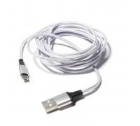 Кабель Micro USB/USB 2.0 в оплетке, 190см
