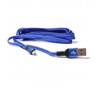 Плоский кабель Lightning/USB 3.0 в оплетке, 290см