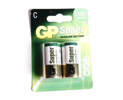 Батарейка GP АА. Алкалиновая. Размер LR-14