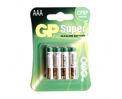 Батарейка GP ААА. Алкалиновая