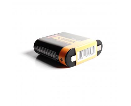 Квадратная батарейка VIDEX, солевая