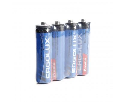 Батарейка ErgoLux АА. Солевая. Размер LR-6
