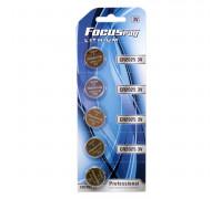 Литиевая батарейка таблетка Focus Ray, 3V, CR2025