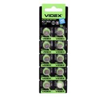 Алкалиновая батарейка таблетка VIDEX LR926, 1,5V