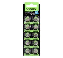 Алкалиновая батарейка таблетка VIDEX LR936, 1,5V