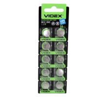 Алкалиновая батарейка таблетка VIDEX LR43, 1,5V