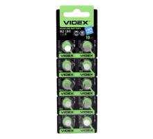 Алкалиновая батарейка таблетка VIDEX LR41, 1,5V