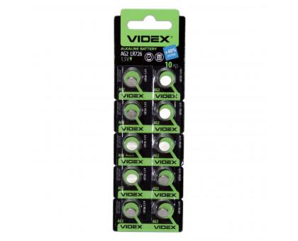 Алкалиновая батарейка таблетка VIDEX LR726, 1,5V