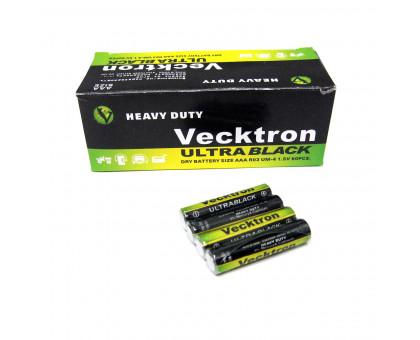 Батарейка Vecktron ААА. Солевая. Размер LR-03