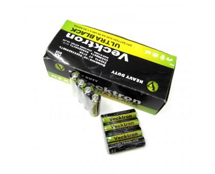 Батарейка Vecktron АА. Солевая. Размер LR-6