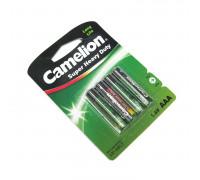 """Батарейка солевая """"Camelion"""" ААА. Размер LR-03"""