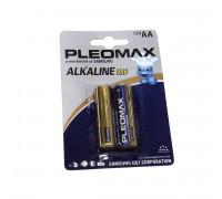 "Батарейка алкалиновая ""Pleomax"" АА. Размер LR-6"