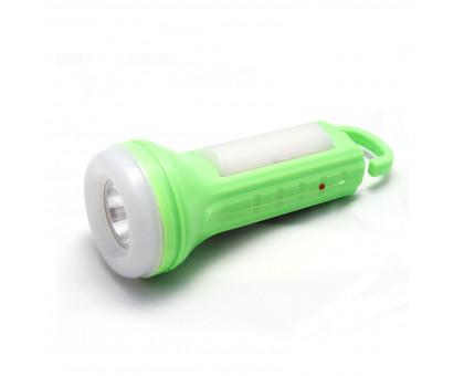 Фонарик светодиодный с зарядкой от сети 220В