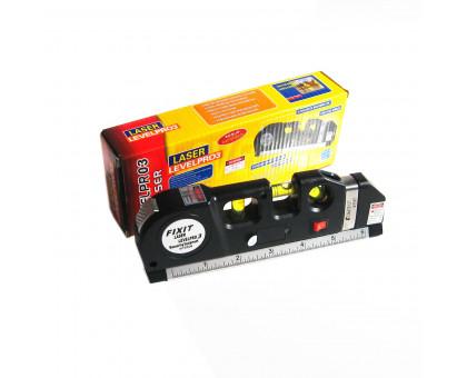 Строительный лазерный уровень с рулеткой 2.5м, Levelpr-03