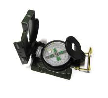 Военный компас с лупой и линейкой