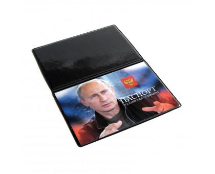 Обложка на паспорт с изображением Президента РФ