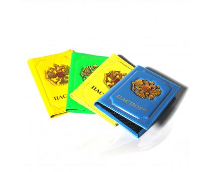 Обложка для паспорта с объемным гербом России