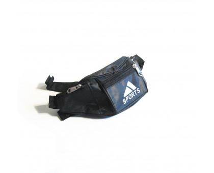 Поясная сумка мужская Sport, обхват 108см.