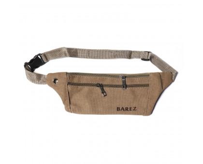 Поясная сумка мужская Dr.Barez, обхват 100см.