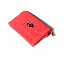 Женская сумка из мягкой искусственной кожи